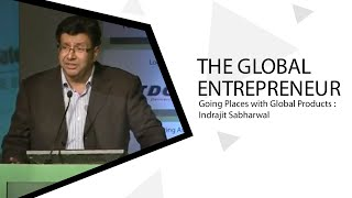 The Global Entrepreneur Going Places