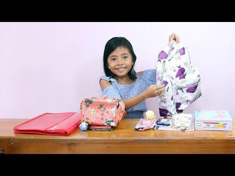 Kids Back to School Haul  Little Princess Shinta 2018 - Persiapan Masuk Sekolah