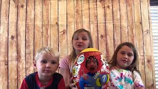 Ryan's toy review surprise giant egg unboxing *Featuring guest ; little brother Garren*