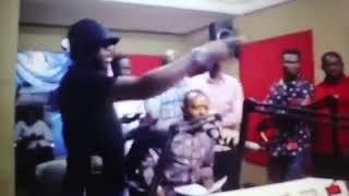 Rev Owusu Bempah vandalizes laptop, microphone at Hot Fm
