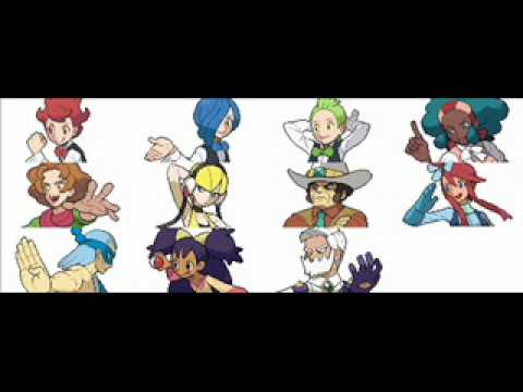 Pokemon Black And White - Gym Leader Battle Music video