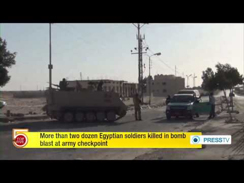 At Least 25 Egyptian Soldiers Killed By Bomb Attack In Sinai