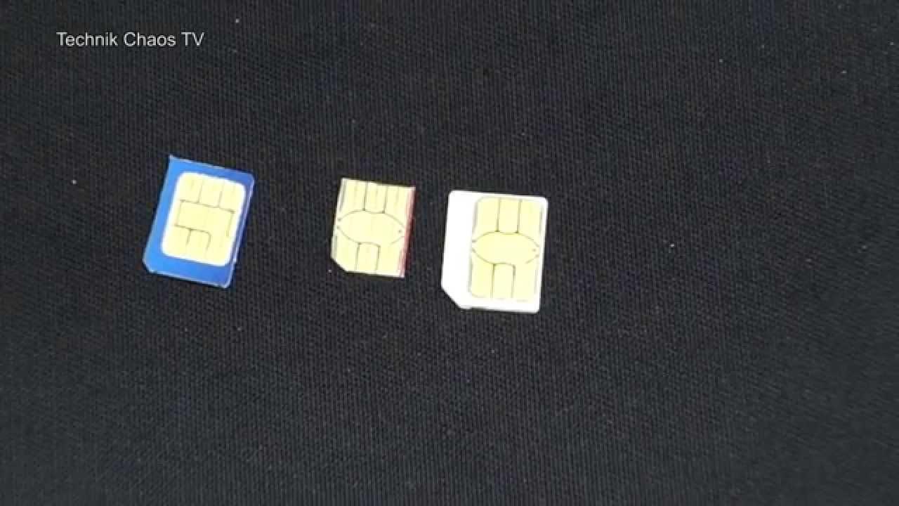 micro sim selber schneiden