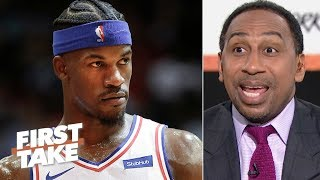 'Stay your behind in Philadelphia!' – Stephen A. to Jimmy Butler | First Take