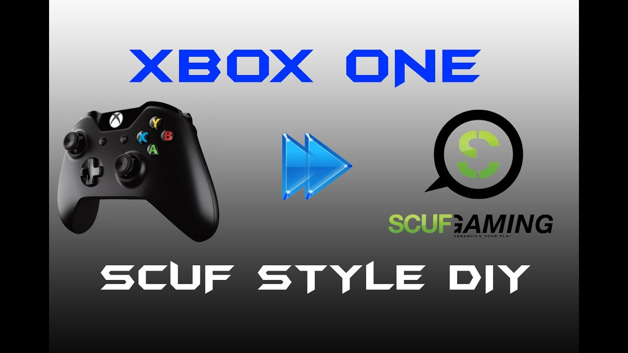 how to make a scuf controller