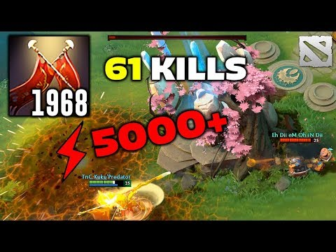 2000 Duel Damage 61 KILLS Legion Commander Dota 2