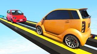 Кто сильнее? Гонки на маленьких машинах в GTA 5 Online