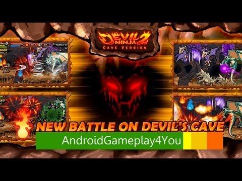 Devil Ninja2 (Cave) Android Game Gameplay