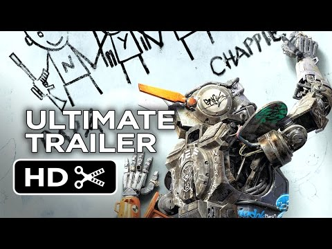 Chappie Ultimate Gangsta Robot Trailer (2015) - Hugh Jackman, Sigourney Weaver Movie HD