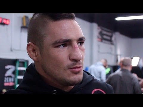 Diego Sanchez's Quick Return is Personal Image 1