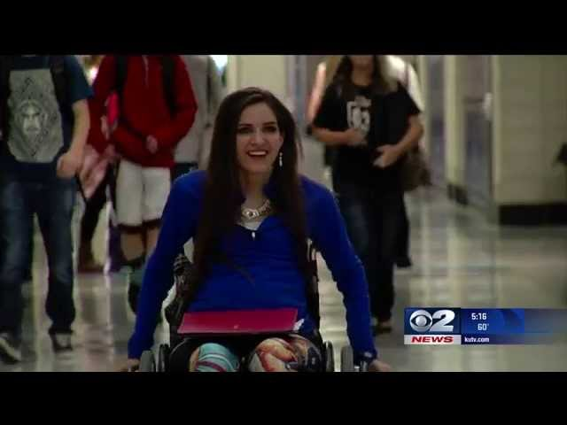 Kendra; Wheelchair Bound SBO