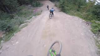 Remy Metailler - Bernado Cruz - Oscar Harnstrom shredding the Whistler BikePark