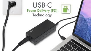 Charge almost any Laptop with Plugable's USB-C PD 60 Watt Charger!