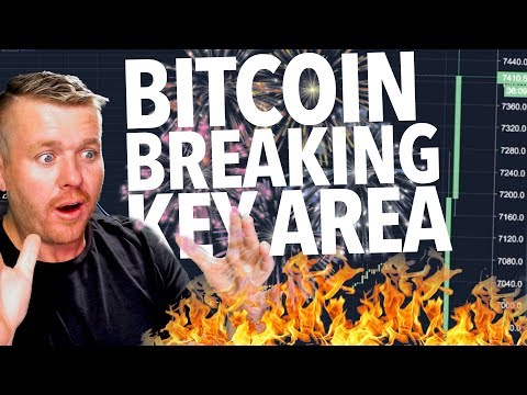 BITCOIN BREAKING KEY AREA JUST NOW!