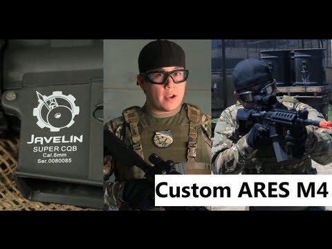 Airsoft GI - Airsoft GI Custom Ares M4 RIS AEG Airsoft Gun