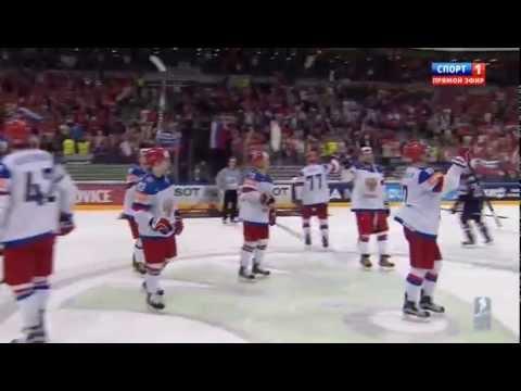 ЧМ по хоккею 2015  1/2 финала  США-Россия, 16.05.2015