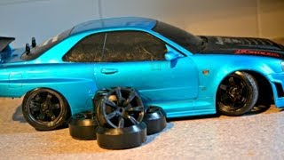 How To REMOVE RC Drift Tires!