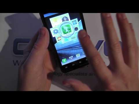 Motorola MOTOLUXE Software Tour