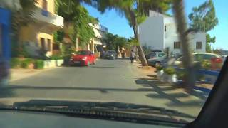 Driving from Monemvasia to Neapolis-Elafonissos & return....