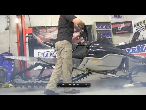 700 Ski Doo mod sled Ep #37 Before and after weight, see the sled run! PowerModz!