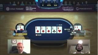 Highlights: GPL EurAsia Heads-Up Justin Bonomo vs Timothy Adams - W1M7