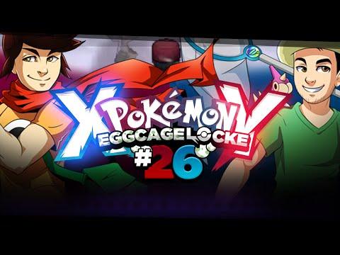 """Pokemon XY  Egglocke Cagelocke w/ MunchingOrange and aDrive - EP26 - """"SNOW WARNING"""""""