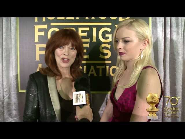 FRANCESCA EASTWOOD, MISS GOLDEN GLOBE 2013