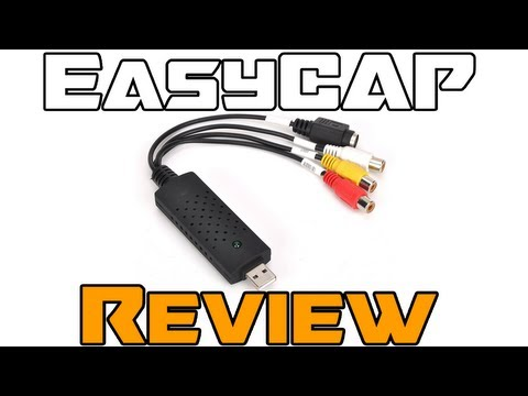 EasyCAP DC60 Review (Cheap $10 Capture Card!)