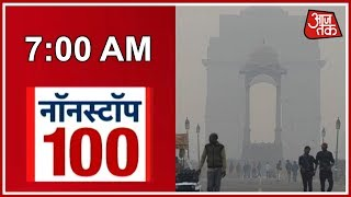 Pollution Hits Delhi Again; Air Quality Reaches Critical Levels After Dust Storms | Nonstop 100