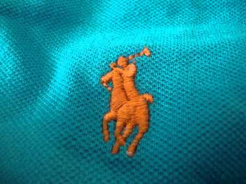 How to spot a fake Ralph Lauren Polo shirt.