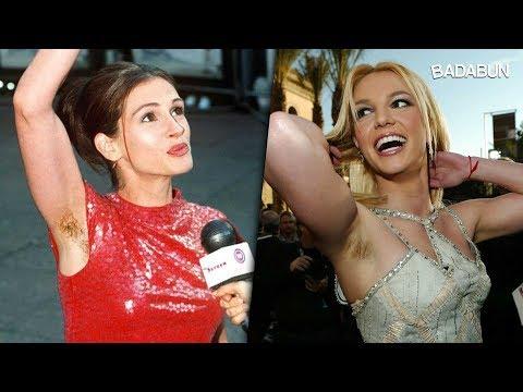10 famosas que no se depilan y están orgullosas de ello