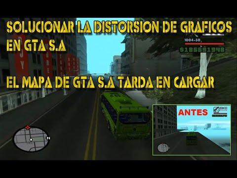 Como Solucionar la distorsión  de los Gráficos de GTA San Andreas PC