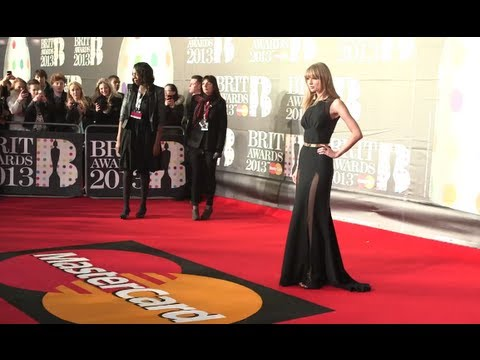 From the Red Carpet: 2013 BRIT Awards Highlights