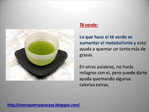 Alimentos quemadores de grasa abdominal youtube - Alimentos que ayudan a quemar grasa abdominal ...
