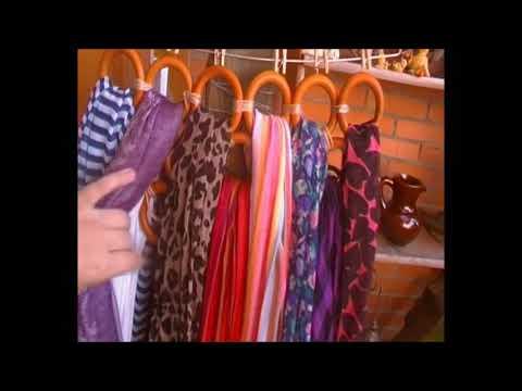 Organizador Pañuelos/Bufandas (todo en orden)
