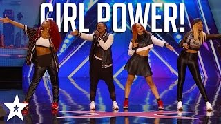 Girl Power! AMAZING GIRLBANDS on Got Talent | Got Talent Global