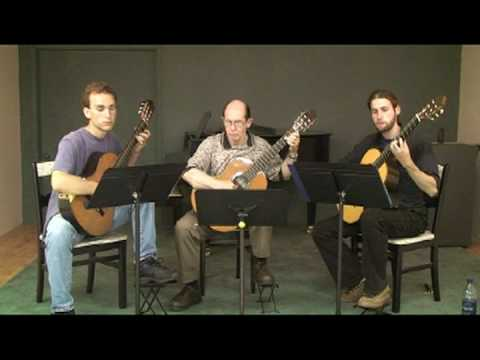 Summer Practice with Classical Guitar Trio Part IV