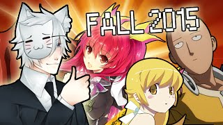 Fall 2015 Anime Season: Joey's Seasonal Anime Roundup