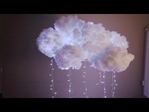 Diy ceiling decorations videolike for Diy clouds ceiling