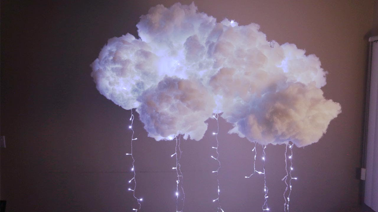 diy cloud light youtube