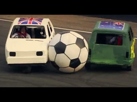 England Vs Australia: Reliant Robin Football – Top Gear Festival Sydney