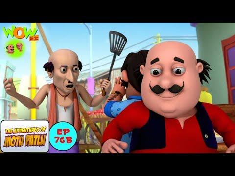 Motu VS John - Motu Patlu in Hindi - 3D Animation Cartoon for Kids thumbnail