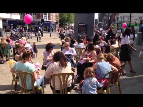 Breastfeeding flashmob