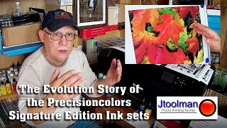 The Evolution Story of the Precisioncolors Signature Edition Ink sets