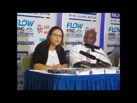 #Flow to beam coverage of #Rally #Barbados around the #Caribbean