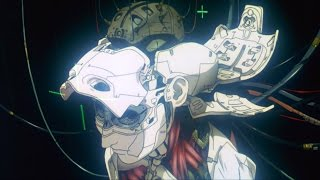 Ghost In The Shell (1995) - Making of a Cyborg Intro Scene & Credits 60fps FI - sub ESP & ENG