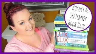 AUGUST & SEPTEMBER BOOK HAUL | lindsayheartsbooks
