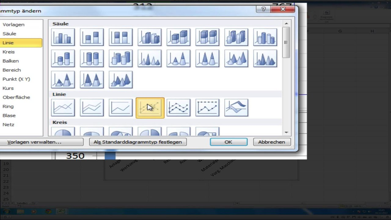 Pareto-diagramm Erstellen Mit Excel 2010  2013