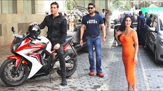 Grand Royal Entry Of akshay kumar, ajay devgan, katrina kaif For suryavanshi trailer Launch