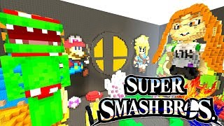 *NEW* SUPER SMASH BROS ULTIMATE! | Hide and Seek | Minecraft Switch
